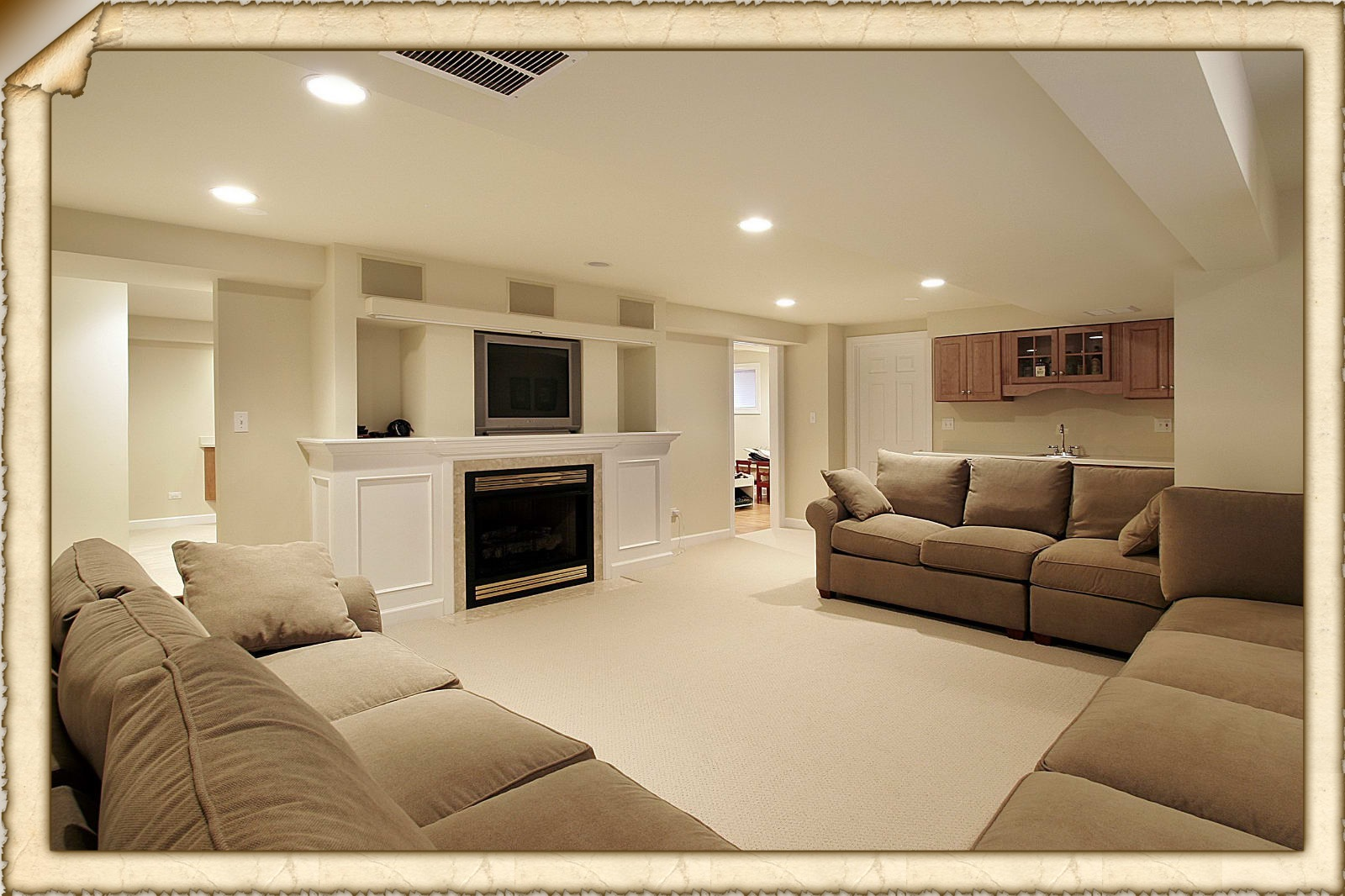 & Easy-to-follow Finished Basement Ideas - Basement Bar Ideas