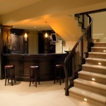 Basement bar Ideas: First Step for a Cooler House